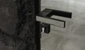 Двері прихованого монтажу дзеркало 40/45 профіль