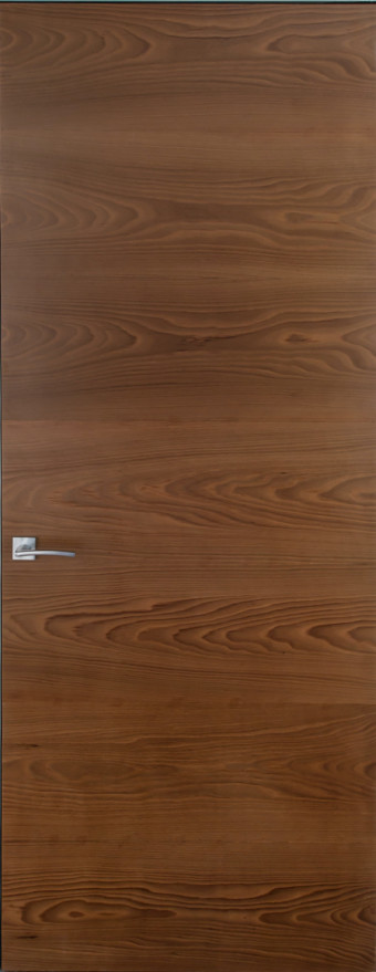 Двері прихованого монтажу шпон натуральний 55 профіль