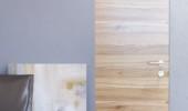 Двері прихованого монтажу шпон натуральний 40/45 профіль