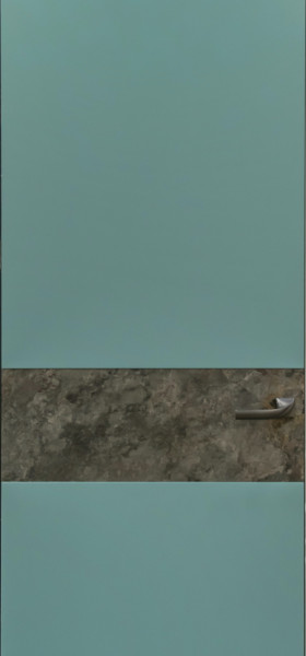 Двері прихованого монтажу фарбовані з кам'яним шпоном 55 профіль
