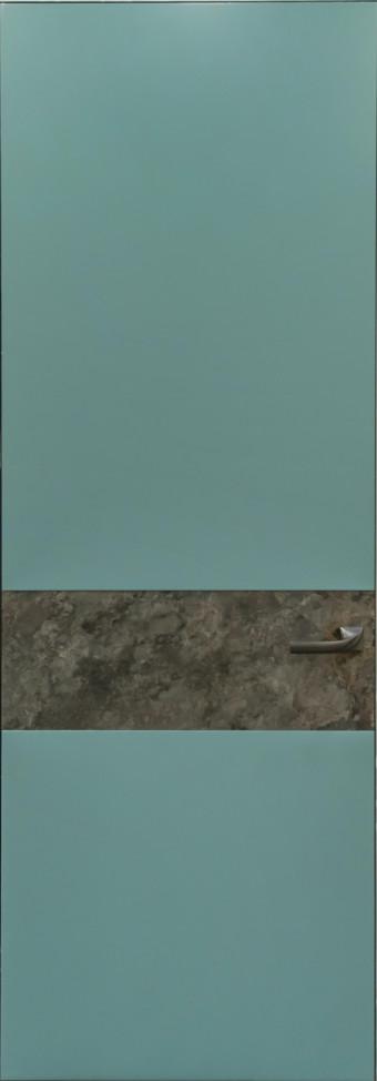 Двері прихованого монтажу фарбовані з кам'яним шпоном