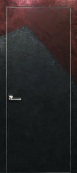 Двері прихованого монтажу грунтовані 55 профіль