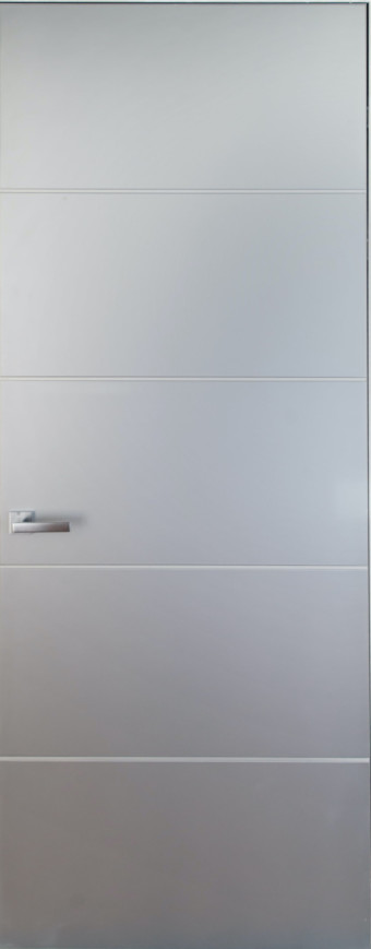 Двері прихованого монтажу фарбовані з молдінгом