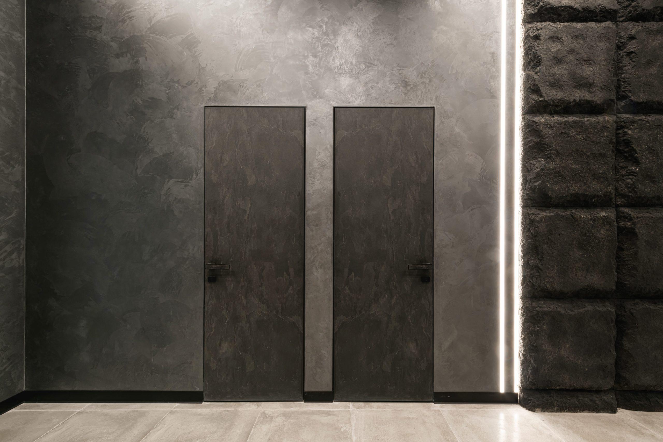 Двері прихованого монтажу, дзеркальні та стінові панелі, керамограніт