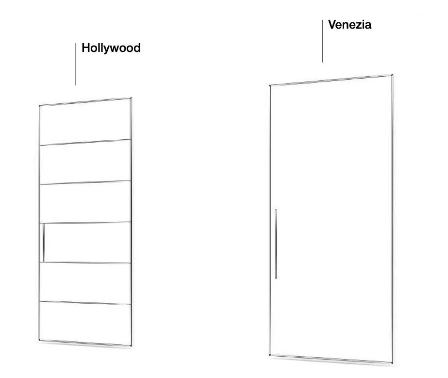 Розсувні двері Hollywood