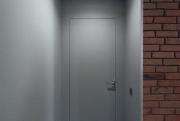 Двері прихованого монтажу в колір стіни. Хто фарбує?
