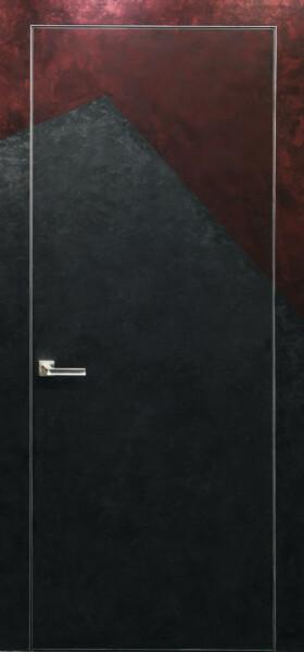 Двері прихованого монтажу грунтовані 51 профіль