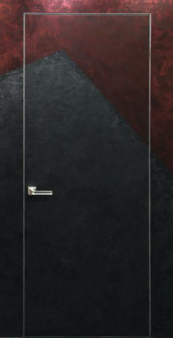 Двері прихованого монтажу грунтовані 43 профіль